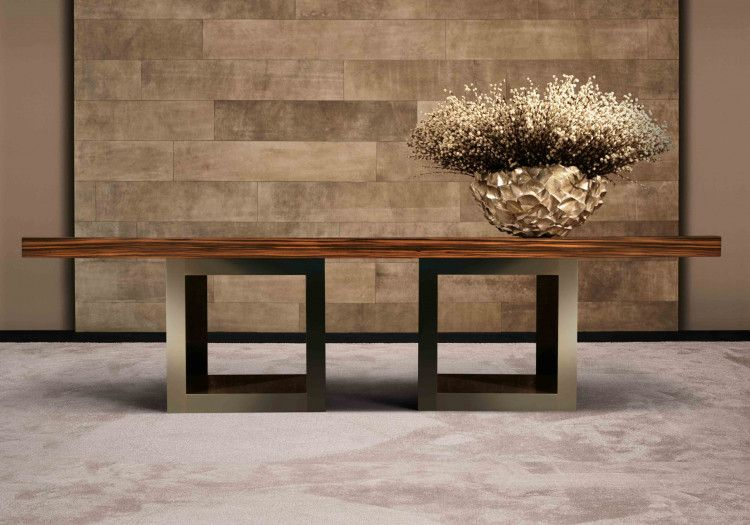 Avalon dining table open cube