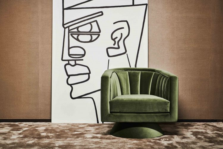 Belmond swivel chair