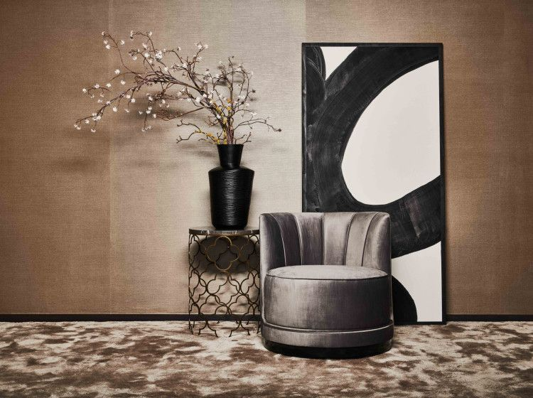 Mansour swivel chair