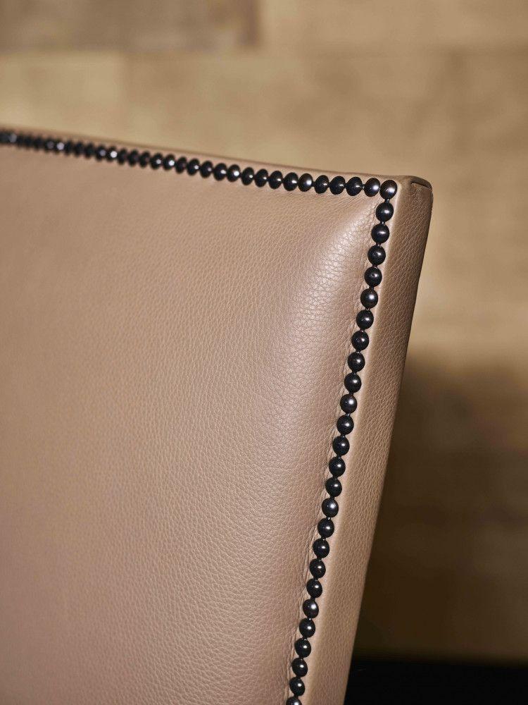 Mondrian dining armchair detail