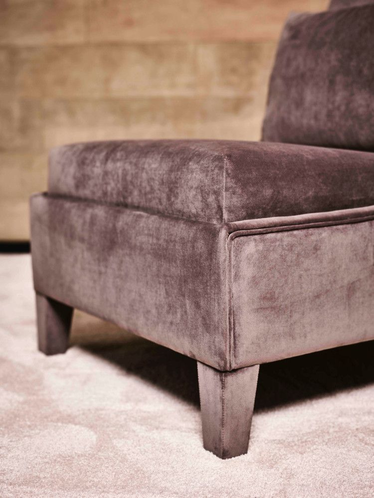 Detail Rosewood Lounge Chair (upholstered leg)