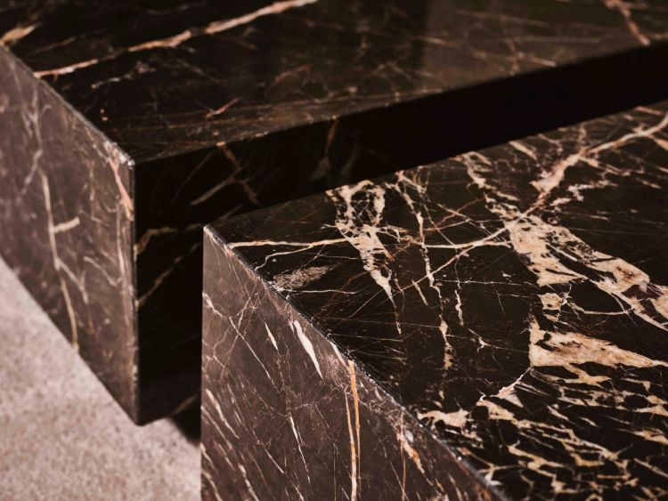 Detail Royalton Coffee Table (Noir Saint Laurent)