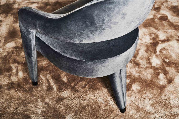 Waldorf dining armchair detail